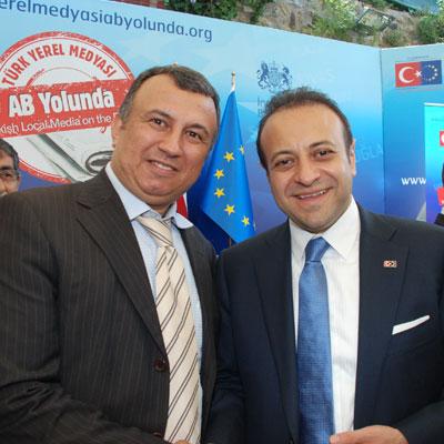 Bora Özgen, AB  Bakanı Egemen Bağış ile galerisi resim 1