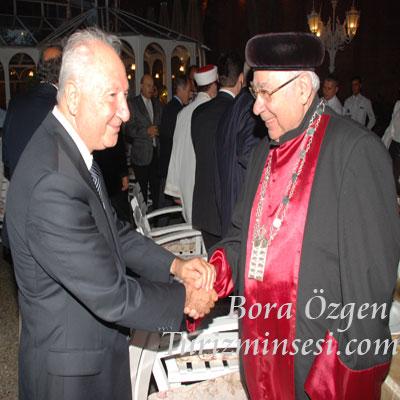 TYD Başkanı Turgut Gür ve Türk Musevi Cemaati temsilcisi Yahuda Adoni galerisi resim 1
