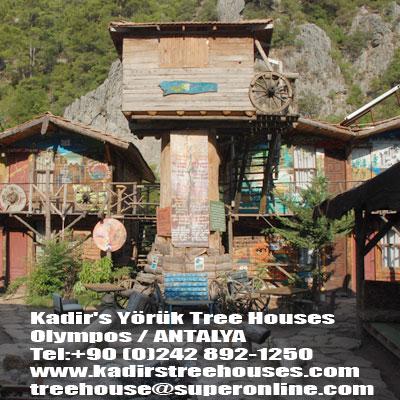 KADİR'S YÖRÜK TREE HAUSES galerisi resim 1