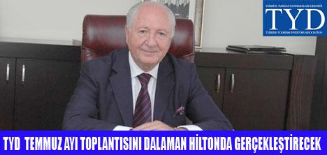 TYD DALAMAN HİLTON'DA TOPLANIYOR