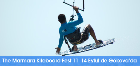The Marmara Kiteboard Fest 11–14 Eylül'de Gökova'da
