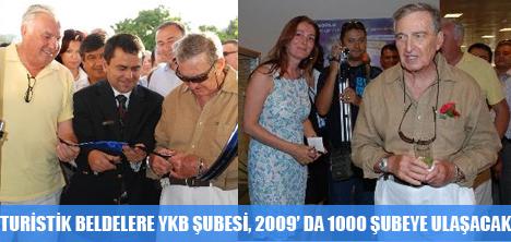YAPI KREDİ BANKASI 2009'DA 1000 ŞUBEYİ BULACAK