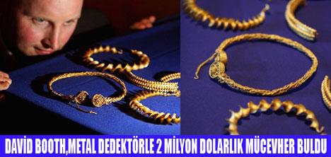 KAZIYLA 2 MİLYON DOLARLIK DEFİNE BULDU