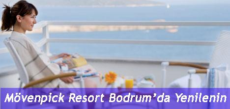 Mövenpick Resort Bodrum'da Yenilenin