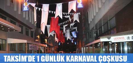 TALİMANE'DE KARNAVAL ÇOŞKUSU