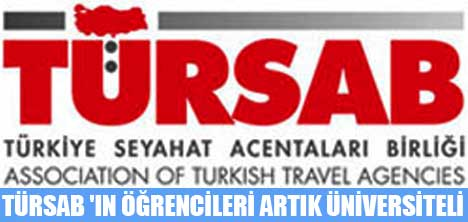TÜRSAB 'IN ÖĞRENCİLERİ ARTIK ÜNİVERSİTELİ