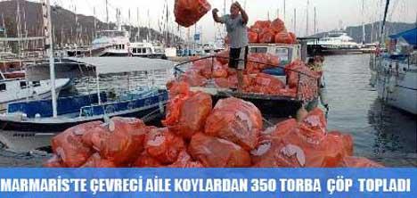 MARMARİS'TE ÇEVRECİ AİLE