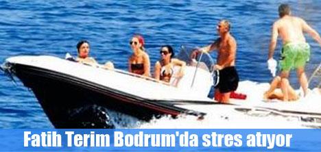 Fatih Terim Bodrum'da stres atıyor