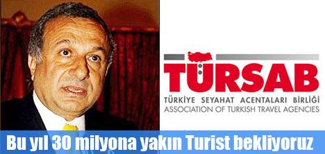 Türkiye'nin geleceği turizmdedir.