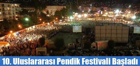 10. Uluslararası Pendik Festivali Başladı