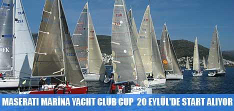 MASERATI MARİNA YACHT CLUB CUP'A SON KAYIT 19 EYLÜL'DE