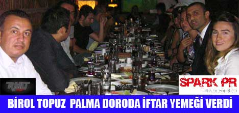 TOPUZ ORGANİZASYON, PALMA DORO RESTAURANT'TA İFTAR YEMEĞİ VERDİ