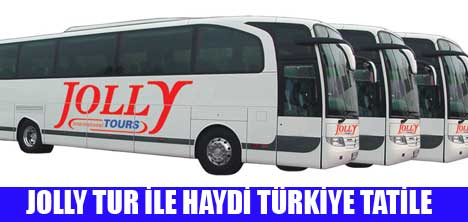 JOLLY TUR'DAN ŞEKER BAYRAMI'NDA OTOBÜS SIKINTISINA SON!!!