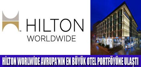 HİLTON WORLWİDE  BÜYÜYOR