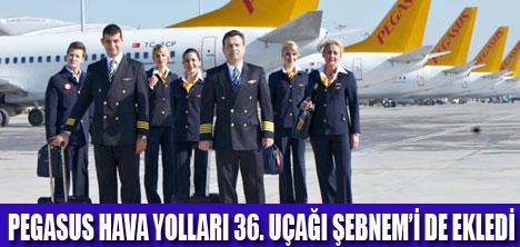 Pegasus hava yolları filosu yeni nesil boeing737 800 uçaklarıyla