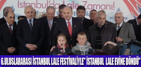 İSTANBUL'A ÖZGÜ LALE ÜRETECEĞİZ