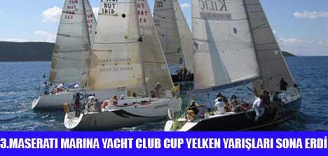 MASARATİ MARİNA YACHT CLUB CUP SONA ERDİ