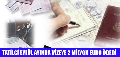 50 BİNDEN FAZLA TATİLCİ YURT DIŞINA 2 MİLYON EURO ÖDEDİ
