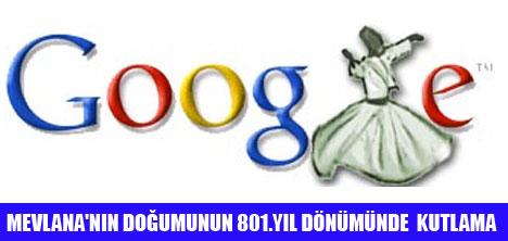 "GOOGLE'DAN ""MEVLANA ""SÜPRİZİ"
