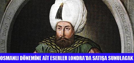 MUHTEŞEM SÜLEYMAN PORTRESİ SOTHEBY'DE SATILIYOR