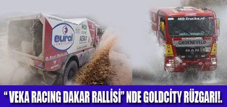 GOLDCİTY  VEKA RACING DAKAR'A SPONSOR