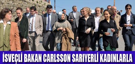 BAKAN CARLSSON SARIYER'DE