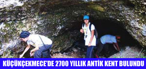 2700 YILLIK BATHONEA KENTİ BULUNDU