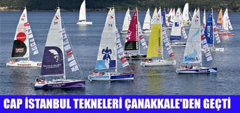27 YARIŞÇI İSTANBUL'A GELİYOR