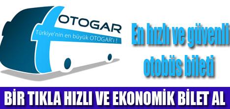 """ONLİNE """"OTOGAR """" OTOBÜS BİLETİ"""