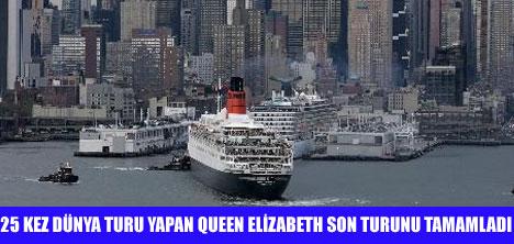 QUEEN ELİZABETH NEWYORK'A VEDA ETTİ