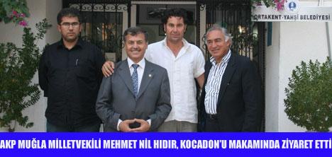 AKP'DEN KOCADON'A ZİYARET
