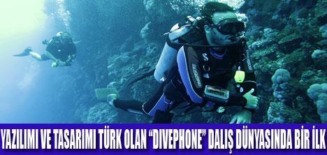 """""""DIVEPHONE""""DALIŞ DÜNYASINDA BİR İLK"""