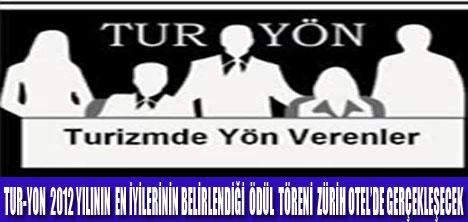 TUR-YON ÖDÜLLERİ SAHİPLERİNİ BULUYOR