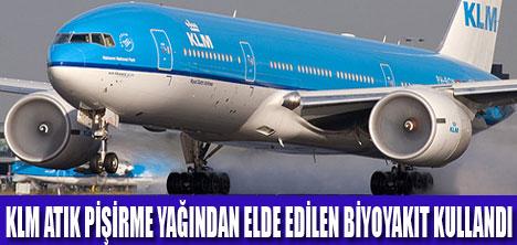 KLM YİNE BİR İLKE İMZA ATTI