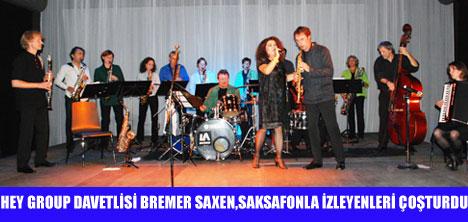 BREMER SAXEN, GARAJ İSTANBUL'DA