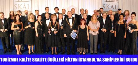 SKALITE 2008 ÖDÜLLERİ VERİLDİ