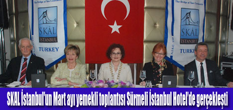 Skal İstanbul Mart ayı buluşması gerçekleşti
