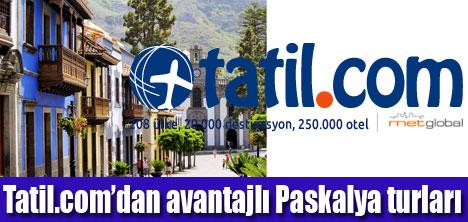 Tatil.com'da çekici tatil  fırsatları