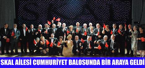 SKAL,CUMHURİYET BALOSUNU KUTLADI