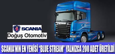 """Scania, Yeni V8 """"Blue Stream""""piyasada"""