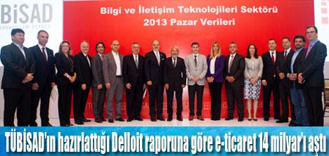 Türkiyede e-ticaret 14 milyar'ı aştı