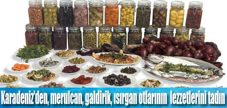 Karadeniz ot yemekleri sizi bekliyor