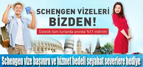 Schengen vizesi masrafları n11.com'dan