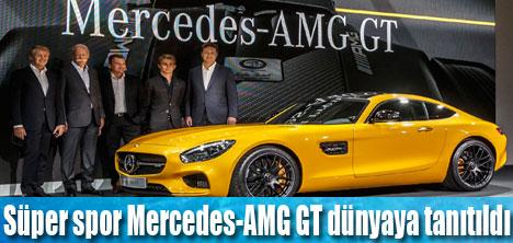 Mercedes-AMG GT dünyaya tanıtıldı