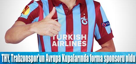 THY, Trabzonspor'a sponsor oldu