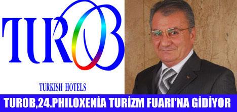 TUROB SELANİK 24.PHILOXENİA TURİZM FUARI'NDA