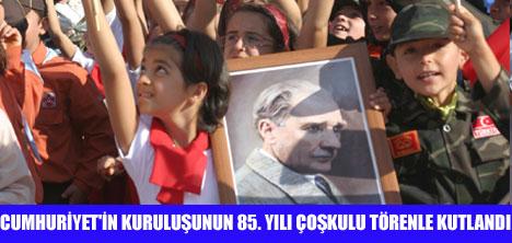 TURGUTREİS'TE CUMHURİYET COŞKUSU