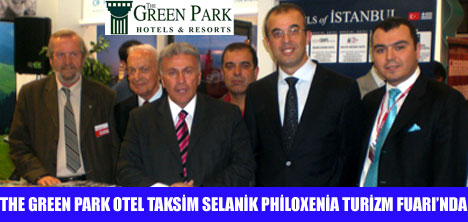 THE GREEN PARK PHİLOXENİA TURİZM FUARI'NDA