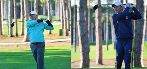 """Kuyt'a Öztürk Ailesinden """"Golf""""Te Tam Not"""