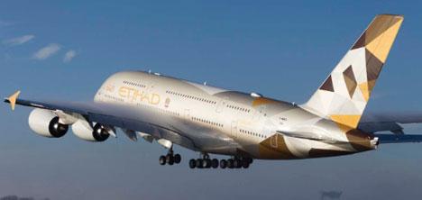 Etihad Airways,Sabiha Gökçen Uçuşlarına Başlıyor